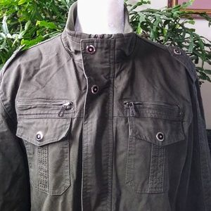 Men's Army Green Jacket ~ New w/o Tags